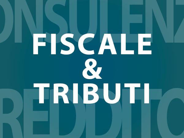 fiscale e tributi