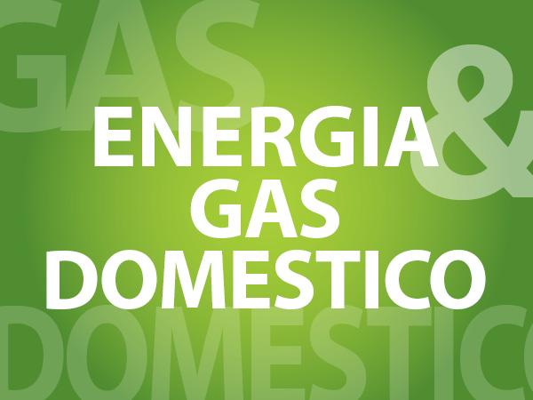 energia e gas domestico