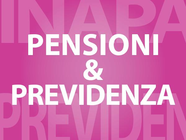 pensioni e previdenza