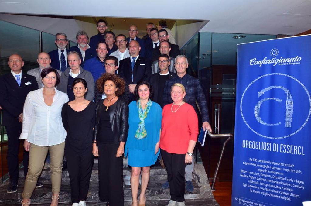 Il nuovo Consiglio direttivo di Confartigianato Imprese Bergamo