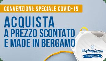 Convenzioni Covid-19 di Confartigianato Bergamo